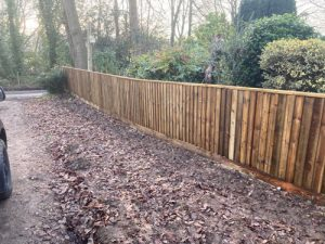 4Ft Close Board Wickham Fence Hampshire - Close Board Fencing Alresford Hinton Ampner Four Marks West Meon Bramdean Ropley Winchester